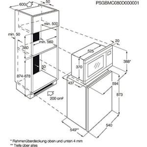AEG Mikrowelle MC2665E-M