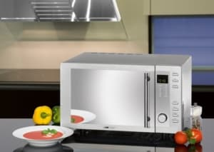 Clatronic MWG 775 H Mikrowelle mit Grill und Heißluft Mikrowelle kaufen